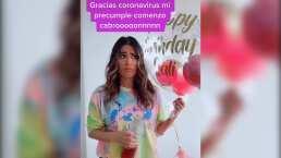 ¡Le da una depresión tonta!: Galilea Montijo bromea al ritmo de 'Tusa' que no festejará su cumpleaños