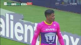 Alfredo Talavera le quita el gol dos veces al hilo al San Luis