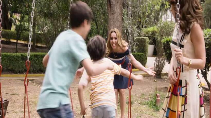 Lupita vuelve a ver a sus hijos