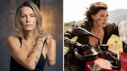 El accidente en el rodaje de Resident Evil que le costó el brazo a Olivia Jackson y cambió su vida para siempre