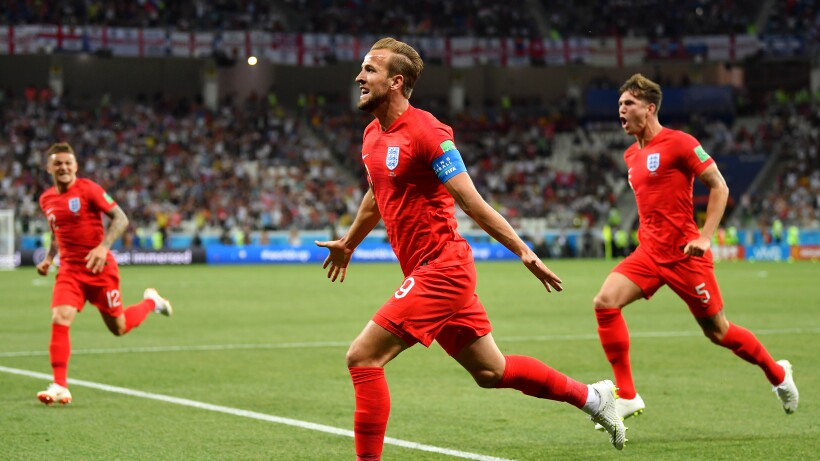 Harry Kane le da los tres puntos a Inglaterra sobre la hora ante una Selección de Túnez que no paró de pelear