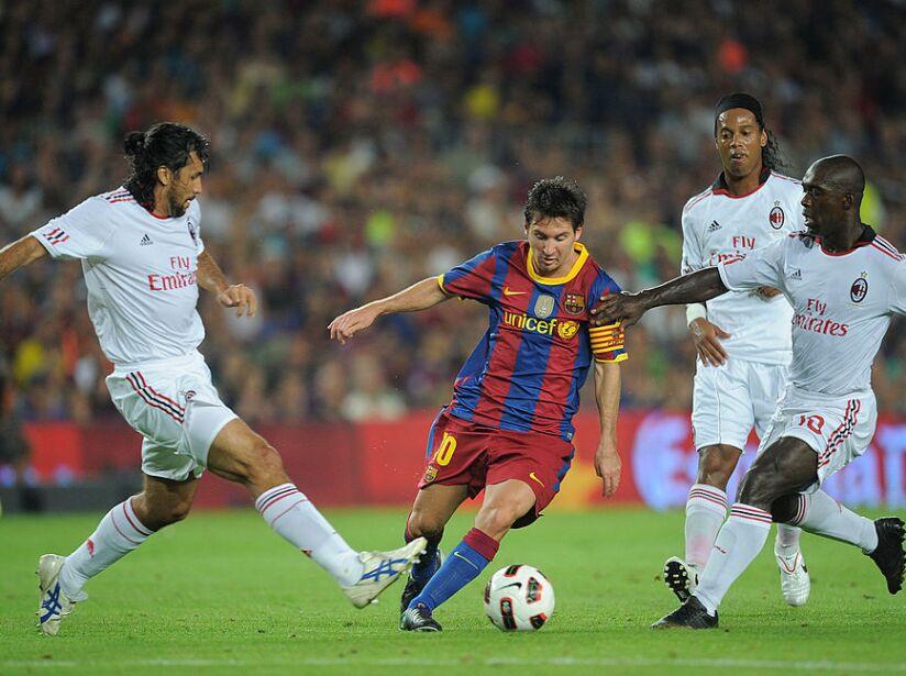 Barcelona v AC Milan - Joan Gamper Trophy