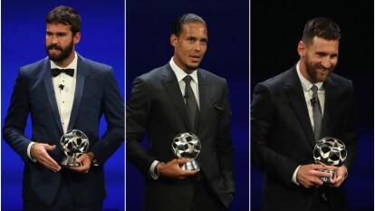 Grandes sorpresas nos dieron estos premios de la UEFA.