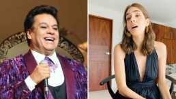 Juan Gabriel hubiera cumplido 71 años y Sandra Echeverría lo recuerda cantando 'Perdona Si Te Hago Llorar'