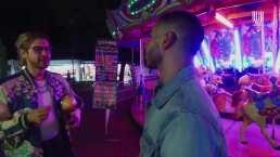 Así Somos: David Allegre tiene una 'date' en una feria, ¿será el indicado?