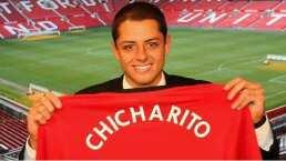 Lo que no se vio del anuncio de Chicharito a Manchester United