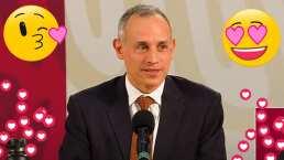 ¿Por qué tan guapo?: López-Gatell se sonroja con atrevida pregunta de una reportera en plena conferencia
