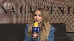 Sabrina Carpenter habla sobre su más reciente producción musical