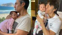 Adrián Uribe celebra los cuatro meses de su bebé con un tierno video
