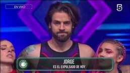 Así reaccionó Jorge a su eliminación de Guerreros 2020