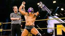 El Hijo del Fantasma, por México, gana cinturón crucero en WWE