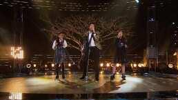 Sebastián Yatra y el Team Melendi cantan 'No hay nadie más' en la final de La Voz Kids