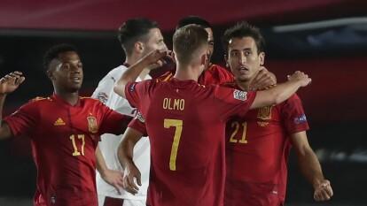 España venció por la mínima a Suiza en la UEFA Nations League | 'La Furia Roja' se mantiene al frente del Grupo 4 de la Liga A.