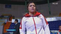 Aremi Fuentes, orgullosa de cumplir su meta