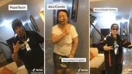 ¿Aburridos?: Esta familia se transformó en cantantes de reguetón y así lucen