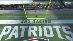 Dolphins vs. Patriots muestra diversas expresiones contra el racismo