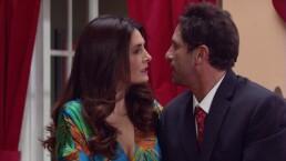 El beso de Pedrito y Silvita