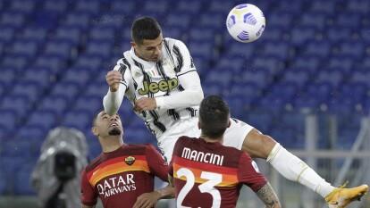 Roma y Juventus empatan en el Estadio Olímpico
