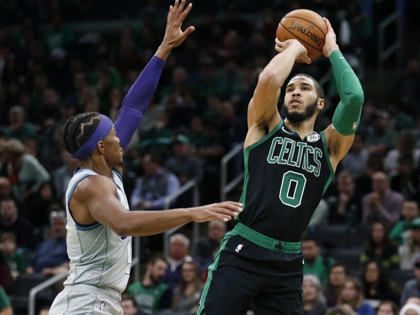 Boston Celtics 119-93 Charlotte Hornets