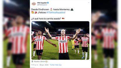 Así celebra el mundo futbolístico en México y en Europa para Rayados de Monterrey.