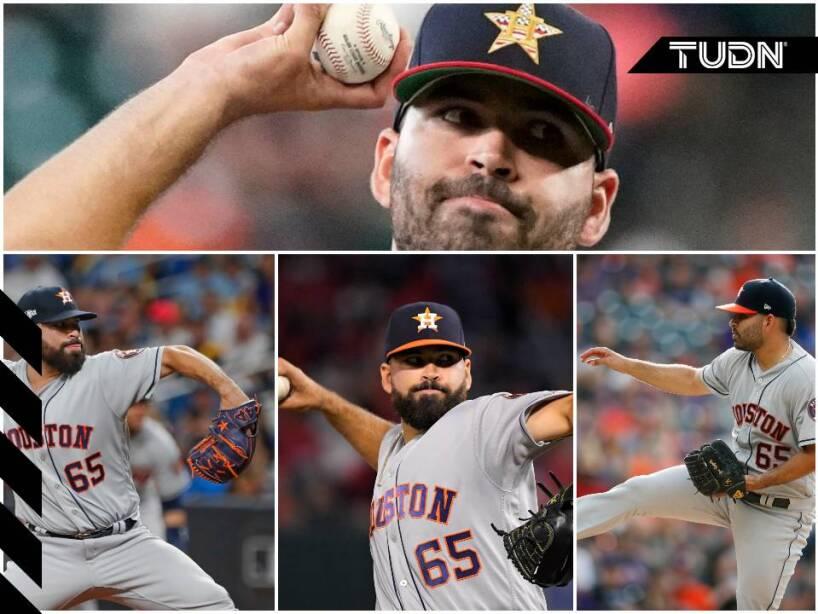 Ha sido fundamental en el andar de los Houston Astros por los playoffs de la MLB.