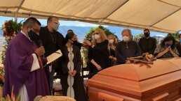 Entre mariachis y con misa de cuerpo presente, así despidió la familia Aguilar a Flor Silvestre