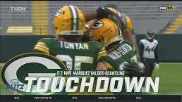 ¡Muestra el brazo! Rodgers lanza pase de 78 yardas para el TD