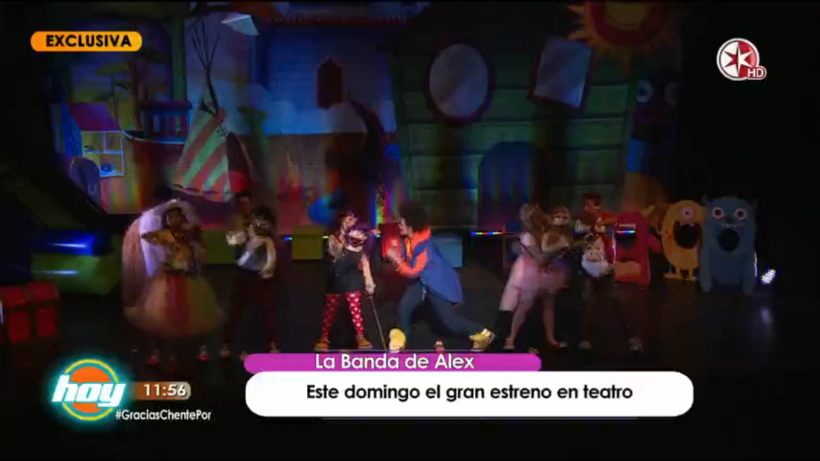 Se estrena el divertido Musical 'La Banda de Alex'