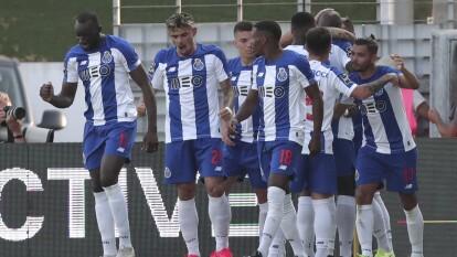 Con goles de Danilo Pereira, Mousa Marega y Fábio Vieira, el Porto se impone 1-3 en su visita al Tondela.