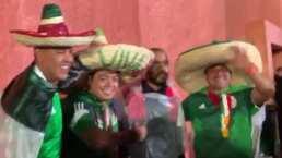 Los mexicanos ponen el ambiente previo al combate Ruiz vs. Joshua II
