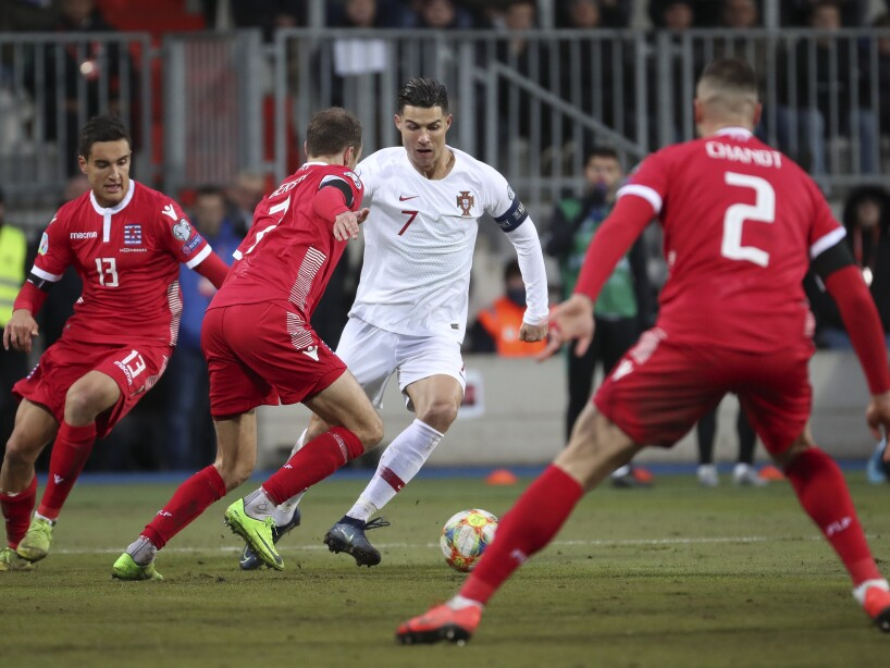 Luxembourg Portugal Euro 2020 Soccer