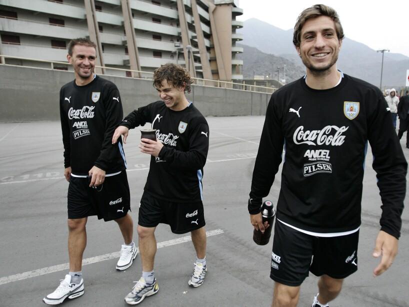 Sebastian Eguren, Sebastian Fernandez, Carlos Valdez