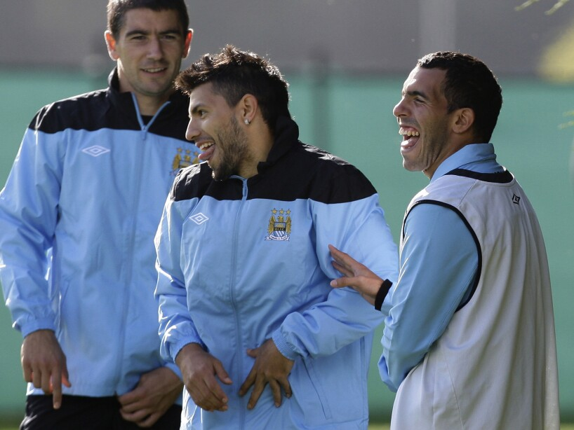 Britain Man City Tevez