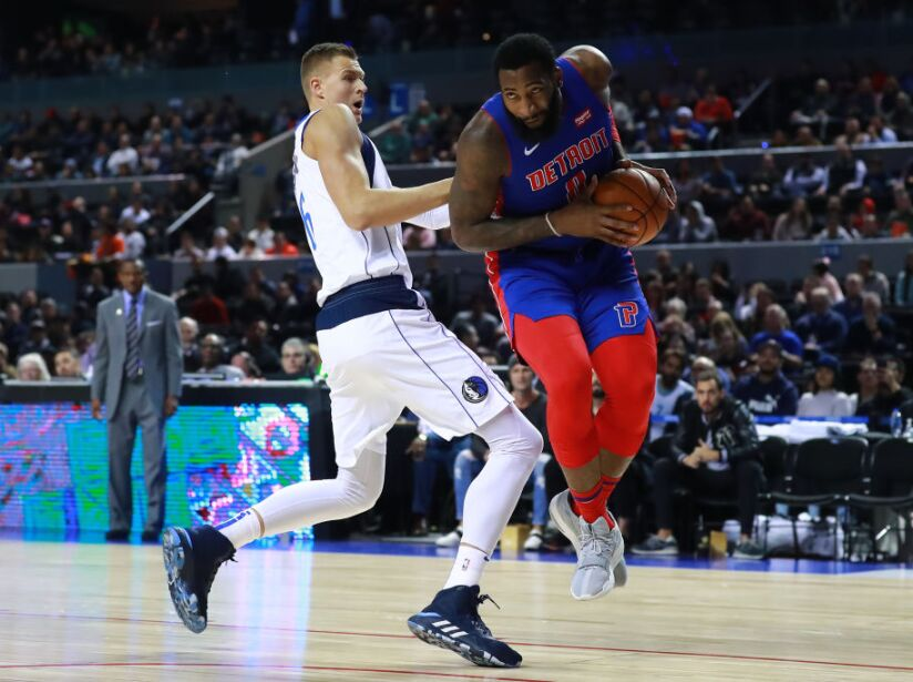 Dallas Mavericks v Detroit Pistons