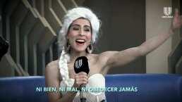 María León y Carmen Sarahí cantan a dueto 'Libre soy' de Frozen