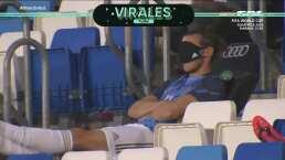 ¡Para dormir! Bale le encuentra un nuevo uso al cubrebocas