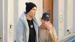 Cristiano Ronaldo cumple la cuarentena obligatoria en Italia