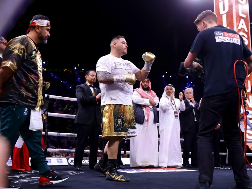 Andy Ruiz Jr v Anthony Joshua 2 - Clash on the Dunes, IBF, WBA, WBO & IBO World Heavyweight Title Fight