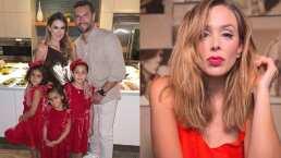 Las hijas de Jacky Bracamontes arman un tierno show de magia para su papá