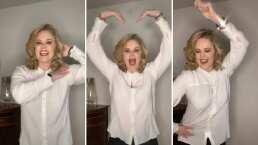 Así te demuestra Erika Buenfil lo bien que sabe bailar canciones de chavorrucos para echar fiesta