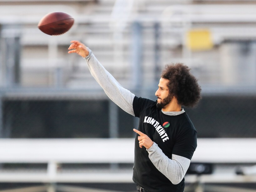 Colin Kaepernick NFL Workout