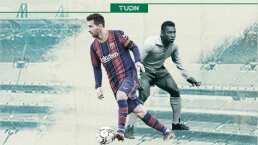 Messi busca romper todos los récords, ¡hasta los de Pelé!