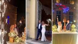 Así se vivió la mágica boda de Altaír Jarabo y Frédéric García en un castillo francés