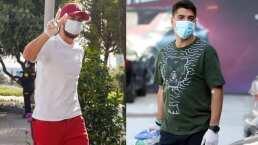 Eden Hazard y Luis Suárez, comparados por su estado físico