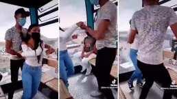 Cablebús se convierte en pista de baile y se vuelve tendencia en redes sociales