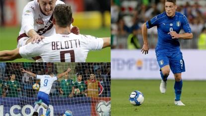 Con doblete de Andrea Belotti Italia golea a Liechtenstein como vistantes.