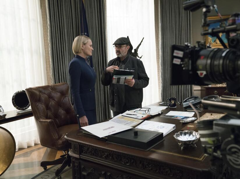 Publican imágenes de la temporada final de 'House of Cards' sin Kevin Spacey