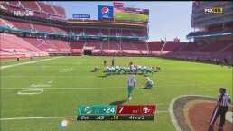 Ya son 20 los puntos de diferencia entre Dolphins y 49ers