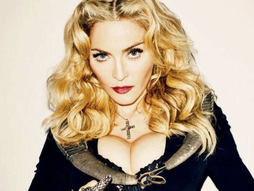12. Louise Veronica Ciccone: Es el nombre completo de Madonna, la única e indiscutible Reina del Pop.