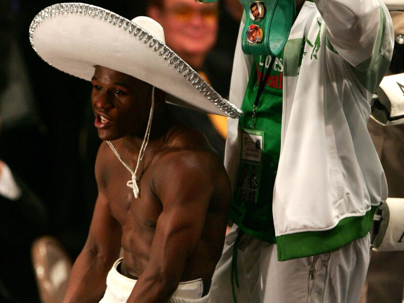 Oscar De La Hoya v Floyd Mayweather Jr.
